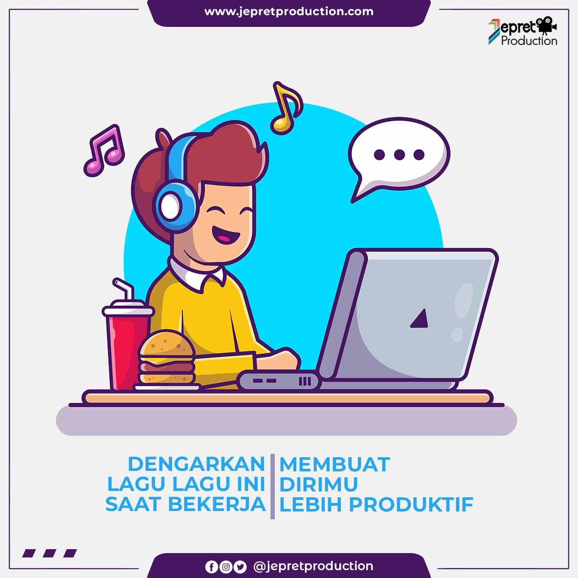 Dengarkan Lagu Lagu Ini Saat Bekerja Membuat Dirimu Lebih Produktif