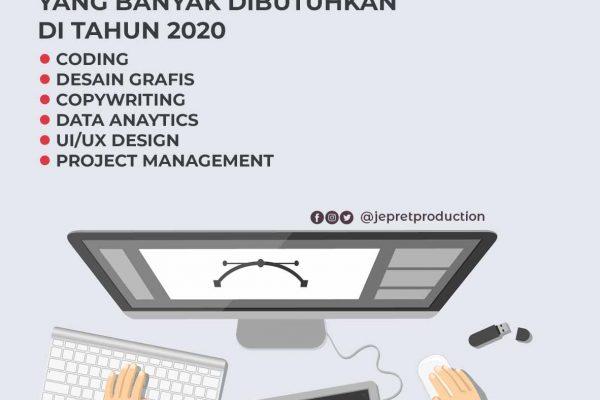 Hard Skill Penting yang banyak dibutuhkan di tahun 2020.
