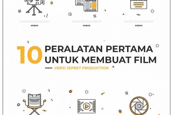 10 alat pertama untuk membuat film