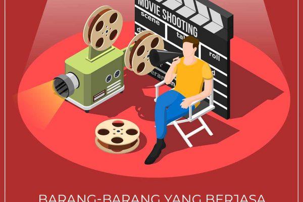 Barang-barang yang Berjasa saat syuting film.
