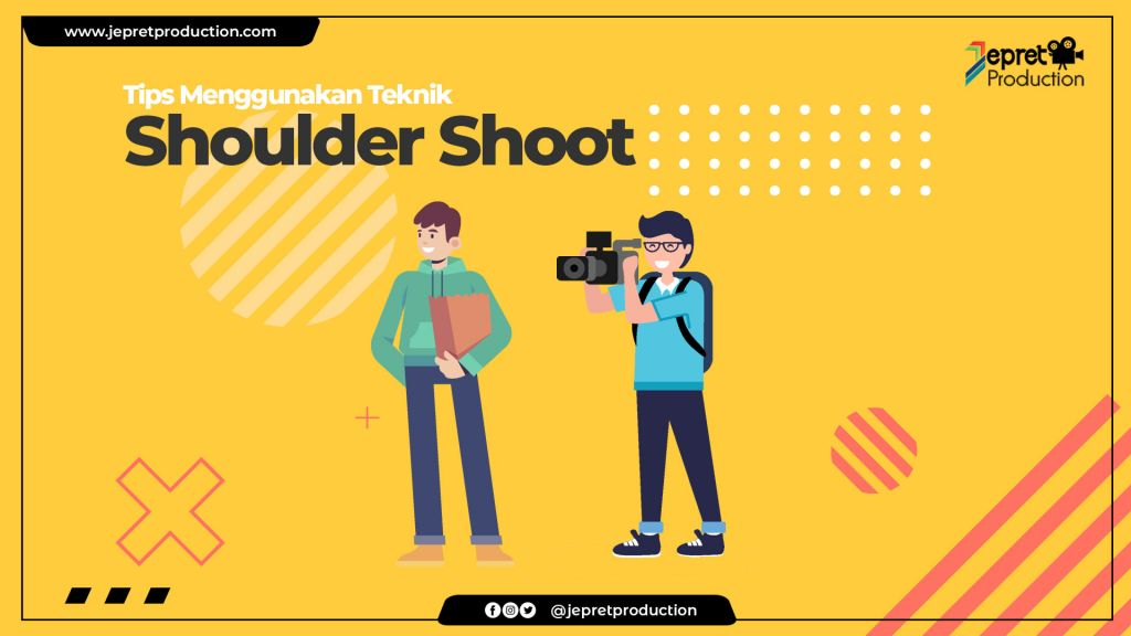 Tips menggunakan OVER SHOULDER SHOTS