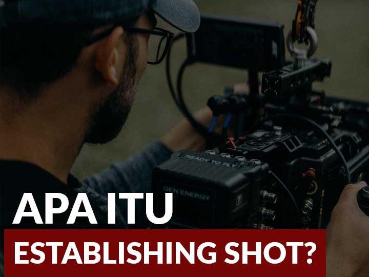 establishing shot adalah